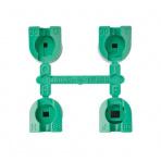 Sada trysek MPR-30 (zelené) 90°/120°/180°/360° 1,7 - 4,5 bar 8,8 - 9,1 m