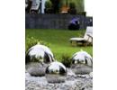 Nerezové fontány Exterier