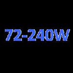 UV lampy 72 - 240 W
