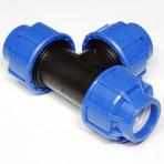 T-kus 40 mm na PE potrubí Plastica Alfa