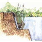 Oase Jutová kapsa na vodní rostliny