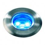 Astrum samostatné svietidlo, nerez, d=30mm LED 0,3W modrá IP68