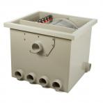 HP PP50 - bubnová filtrace gravitační / tlaková