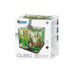 Superfish QubiQ 30 čierne akvárium