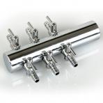 Šestcestní ventil 9 mm