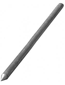 Uzemňovacia tyč 1,5 m, Fe-Zn
