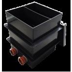 Čerpadlová šachta (mokrá) pro dvě čerpadla 60 x 60 cm (2 vstupy)