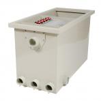 HP CL22 - bubnová filtrace + bio komora gravitační / tlaková