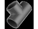 T-kus 90° - 1 x vývod závit vnitřní, 2 x vývod lepení