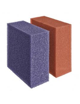 Biotec 40000 Red / Purple náhradní houbičky