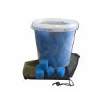 Bioakvacit kostky 4cm, 10 l vědro + kapsa zdarma
