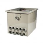 HP PP100 - bubnová filtrace gravitační / tlaková