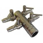 Čtyřcestní ventil 9 mm