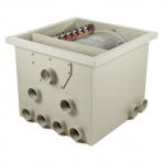 HP pp65 - bubnová filtrace gravitační / tlaková