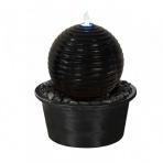 Asaka BOULE 40 Bronze - sklobetonová fontána exteriér