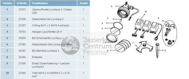 Oase Lunaqua 3 - Set 3