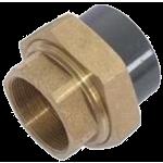 Šroubení PVC (lepení) / mosaz (vnitřní závit)