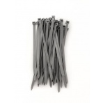 Příchytky na stínící sítě BRIDFIX 140mm šedé, 50ks