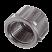 PP víčko (tvarovka plastová černá)