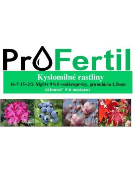 ProFertil Kyslomilné rastliny 16-7-15+4MgO 5-6M (2,5kg)