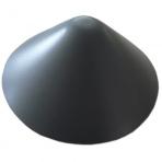 Kužel šedý ø 120 mm