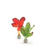 biOrb Silk Plant Set zelená a rudá 20 cm