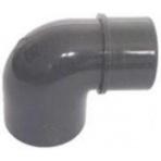 32x32 / 25 koleno PVC 90 ° redukované PN10