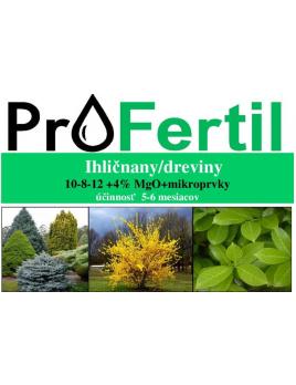 20 kg ProFertil DREVINY, 10-8-12, 4MgO, 5-6 mesačné
