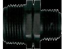 PP tvarovky plastové černé