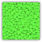 SF Deco Gravel Neon Green 1 kg - zelený štěrk do akvária
