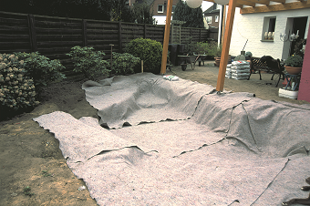 jazierková geotextília